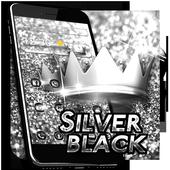 Silver Black Theme icon