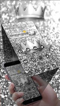 Silver Black Theme screenshot 1