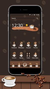 Coffee Brewing Theme & Live Wallpaper poster