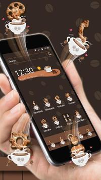 Coffee Brewing Theme & Live Wallpaper apk screenshot