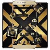 Luxury Black And Golden Theme icon