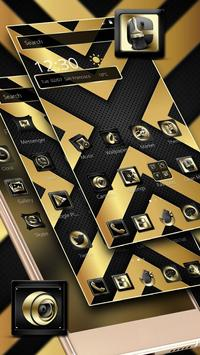 Luxury Black And Golden Theme poster
