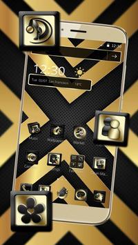 Luxury Black And Golden Theme screenshot 2