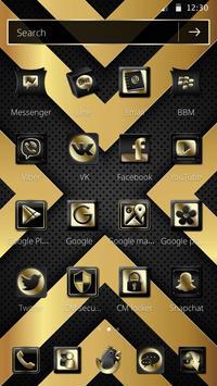 Luxury Black And Golden Theme screenshot 4