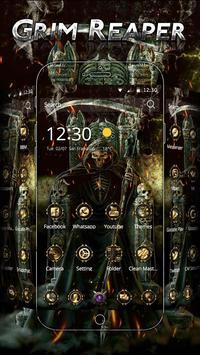 Skull Grim Reaper Theme poster