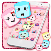 Fluffy Cotton Marshmallow Theme icon