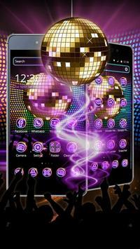 disco Light Night Theme apk screenshot