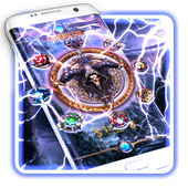 Live Lightning Storm game Theme icon