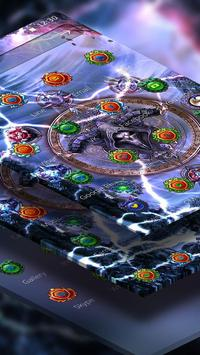 Live Lightning Storm game Theme apk screenshot