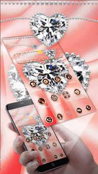 Pink Silk Diamond Theme apk screenshot