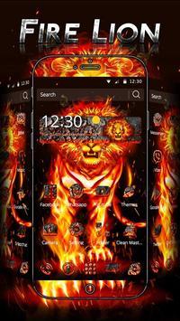 Fire Lion Theme poster