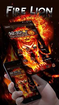 Fire Lion Theme screenshot 1