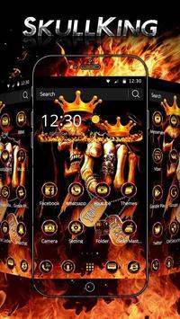 Hell Skull King Theme poster