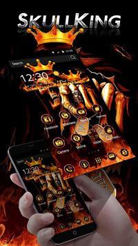 Hell Skull King Theme screenshot 1