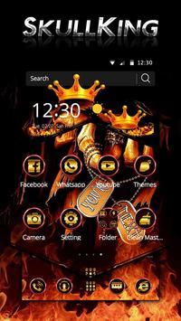 Hell Skull King Theme screenshot 2