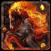 Burning Horse Theme icon