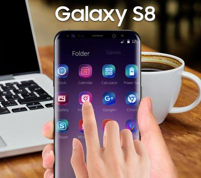 Purple Theme for Galaxy S8 apk screenshot
