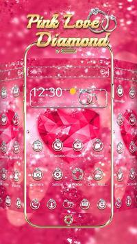 Pink Love Diamond Theme poster