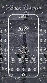 Paris Drops Theme poster