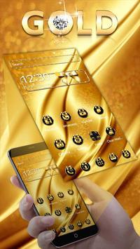 Gold Luxury Theme screenshot 1