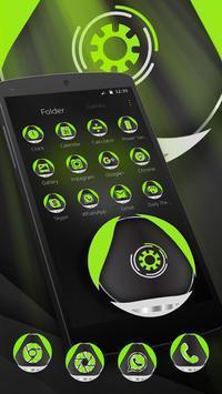 Green Technology Launcher Theme poster