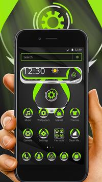 Green Technology Launcher Theme screenshot 1