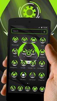 Green Technology Launcher Theme screenshot 2