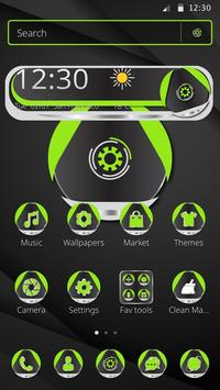 Green Technology Launcher Theme screenshot 3