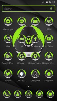 Green Technology Launcher Theme screenshot 4