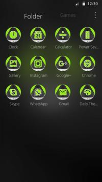 Green Technology Launcher Theme screenshot 5
