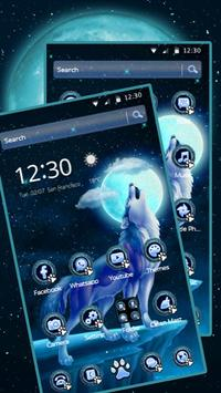 wicked Howl Wolf Theme 2D apk screenshot