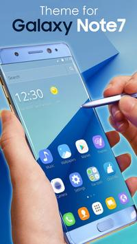 Theme for Galaxy Note7 poster