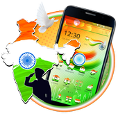 indian independence day Theme 2D icon