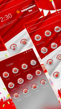 Indonesia Independence Day Theme screenshot 2