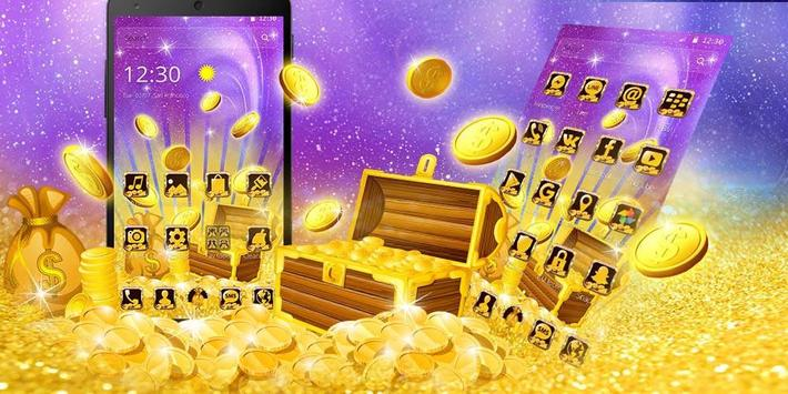 [FREE] Golden Slots machine Casino Dollars Theme screenshot 3