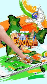 印度發射主題 poster