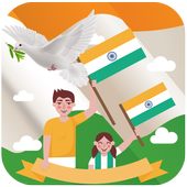 Independence Day Trio Flag wallpaper Theme icon