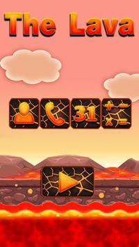 Floor Is Now Erupting Lava Challenge Theme poster