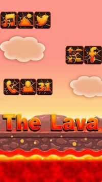 Floor Is Now Erupting Lava Challenge Theme apk screenshot