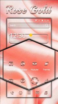 Rose Gold Theme screenshot 2