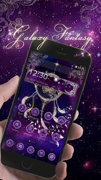 Butterfly Dreamcatcher - Purple Theme poster
