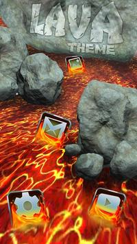 Flowing Lava Theme screenshot 1