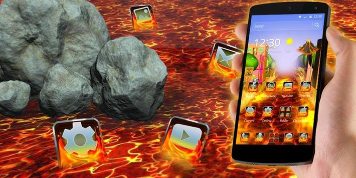 Flowing Lava Theme screenshot 3