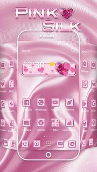 Pink Silk Theme apk screenshot
