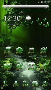 Woodland Forest contaract Theme 2D apk screenshot