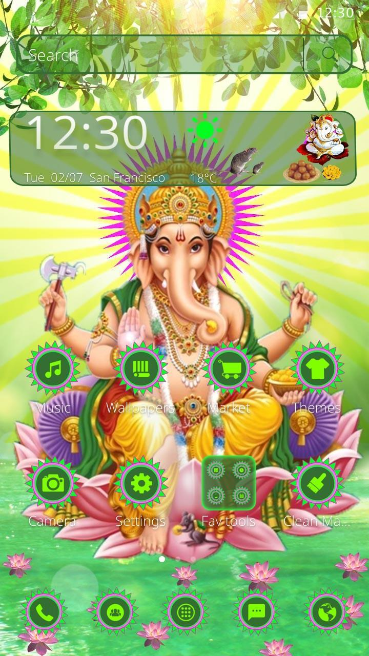 Free Lord Ganesha Mobile Theme for Android - APK Download