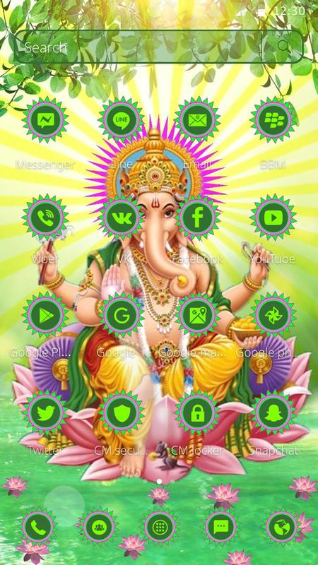 Free Lord Ganesha Mobile Theme For Android Apk Download
