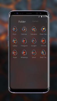 Lava Theme apk screenshot