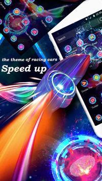 Speed up the theme of racing cars apk screenshot