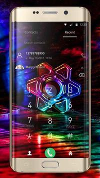 Neon Fidget Spinner Theme screenshot 4